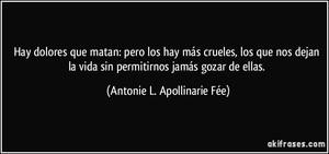 Antonie L. Apollinarie Fée