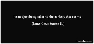 James Green Somerville