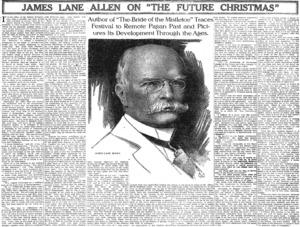 James Lane Allen