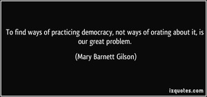Mary Barnett Gilson
