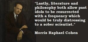 Morris Raphael Cohen