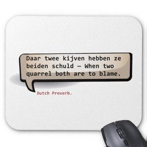 Proverbio holandés