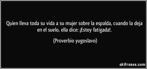Proverbio yugoslavo