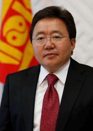 Tsakhiagiin Elbegdorj