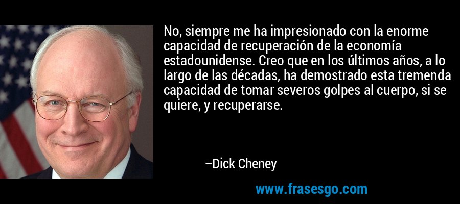 Lugar de Dick Cheney