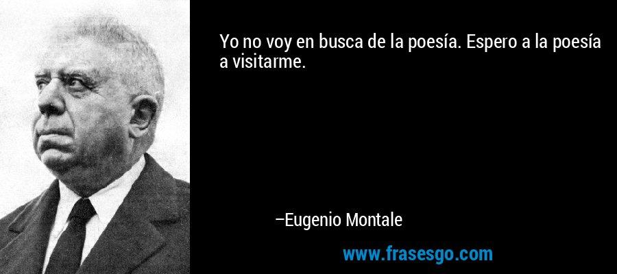 Eugenio Montale de que nacionalidad es