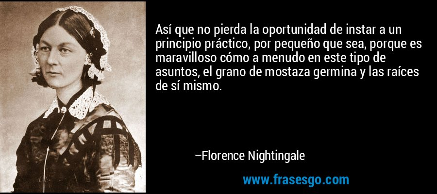 Frases Florence Nightingale Enfermagem Translation Italian Guide