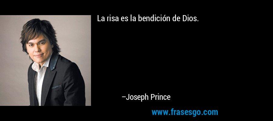 La risa es la bendición de Dios. – Joseph Prince