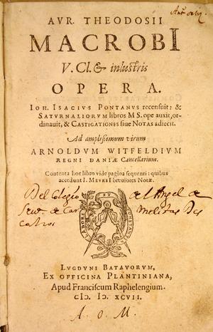 Aurelio Teodosio Macrobio