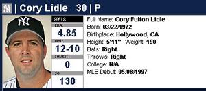 Cory Lidle