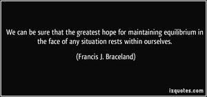 Francis J. Braceland
