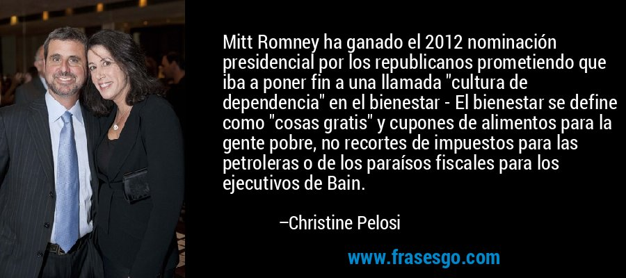 Mitt Romney ha ganado el 2012 nominación presidencial por los republicanos prometiendo que iba a poner fin a una llamada