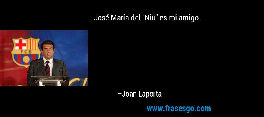 José María del