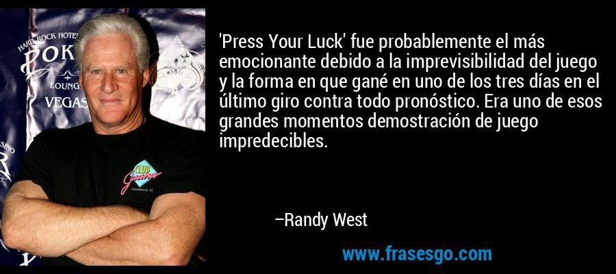 Press Your Luck Fue Probablemente El Más Emocionante Debid